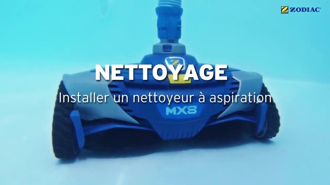 Installation D'un Nettoyeur Piscine Zodiac Mx8 Pro / Mx9 / Mx6 -  Robotpiscine.fr serapportantà Robot Piscine Zodiac Mx8