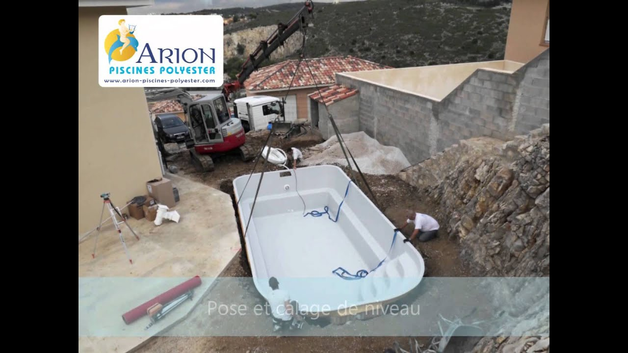 Installation D'une Piscine Coque serapportantà Arion Piscine