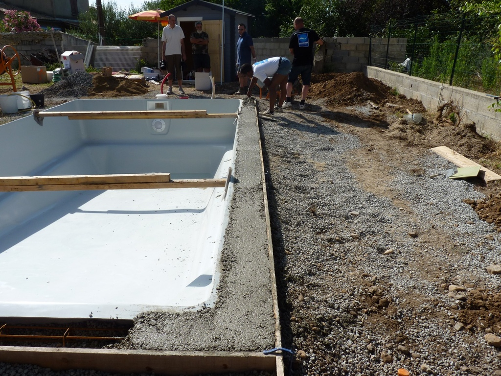 Installation Piscine Coque Polyester - Alliance Piscines dedans Piscine Bac