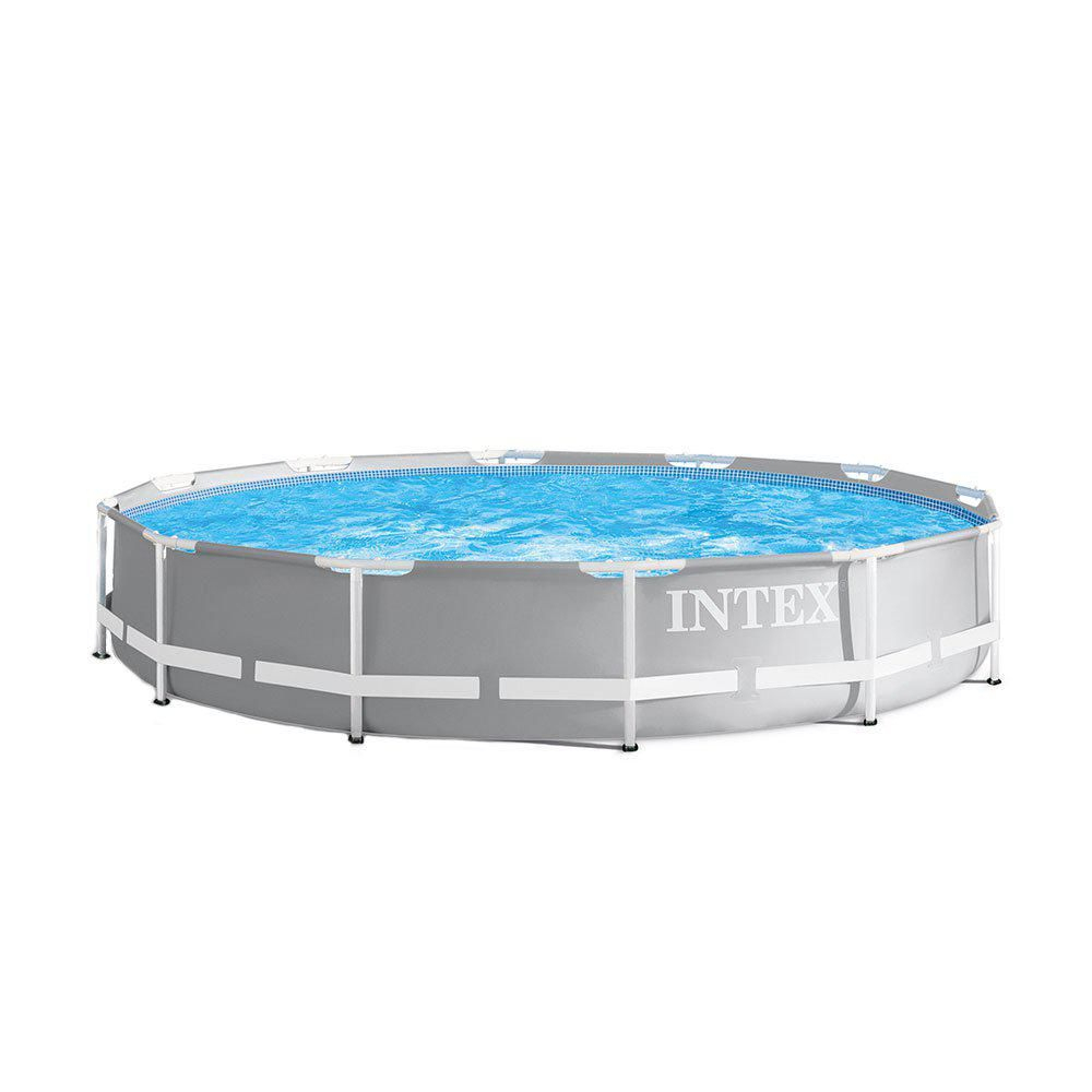 Intex 12 Ft. X 30 In. Durable Prism Steel Frame Above Ground ... tout Liner Piscine Intex