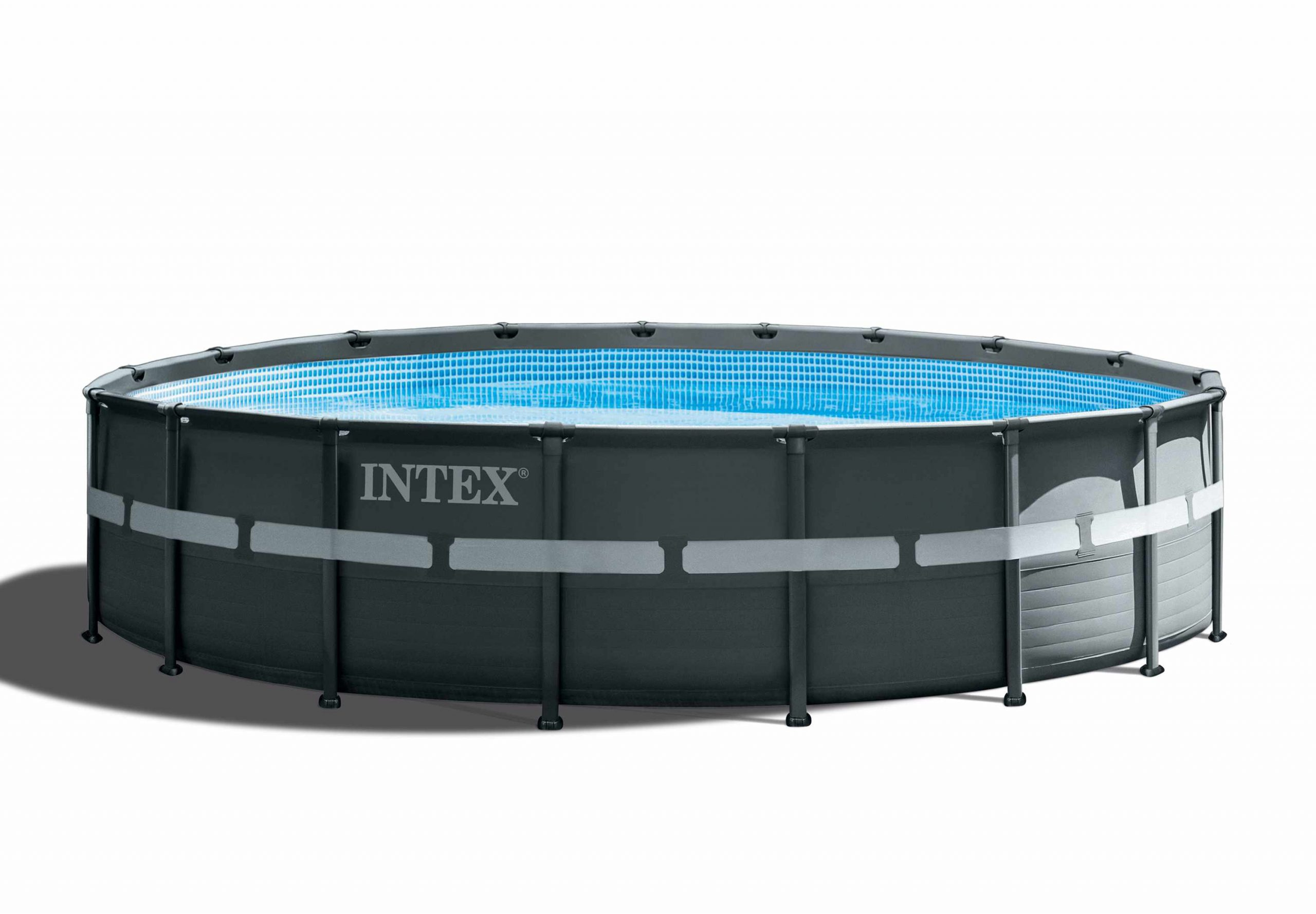 Intex 26330 Piscine Hors-Sol Ronde Ultra Frame Xtr 549X132 à Piscine Hors Sol Composite