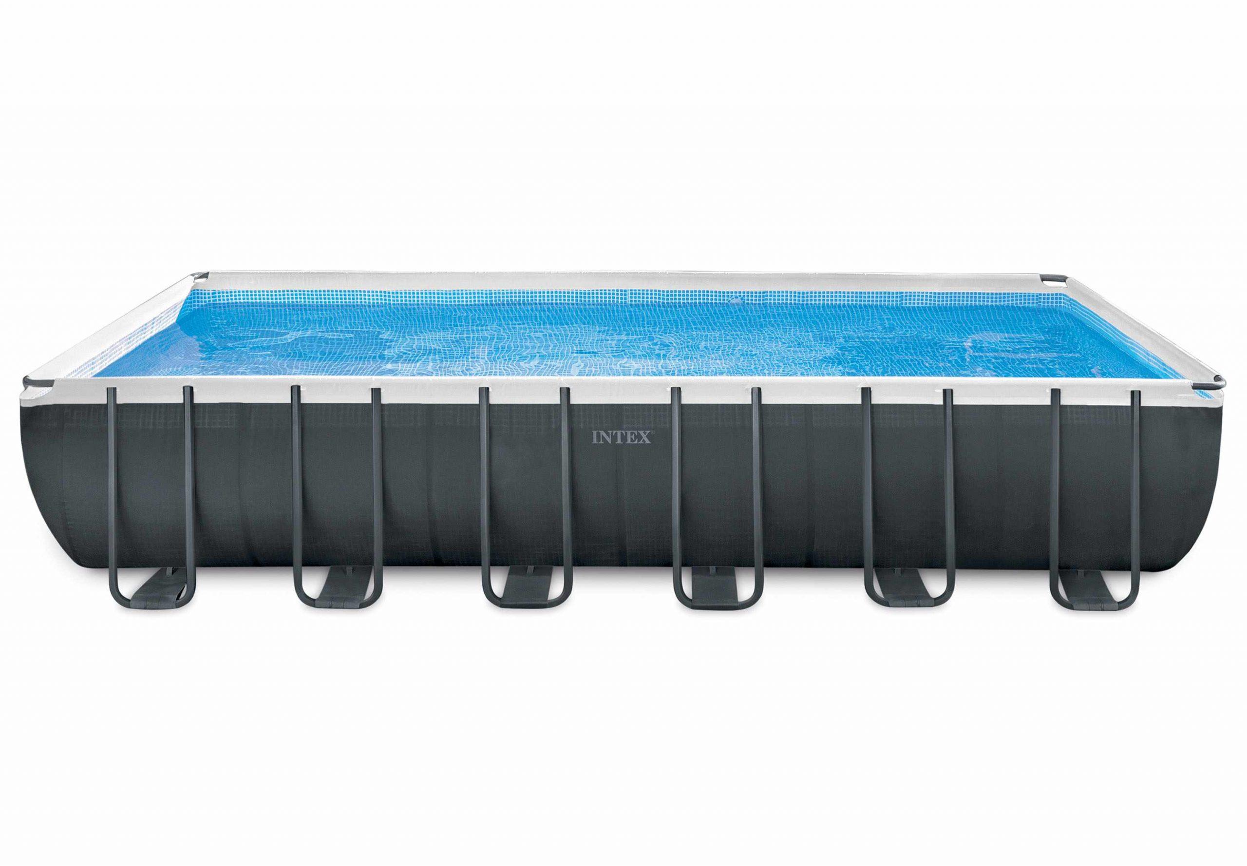 Intex 26368 Ex 26362 Ultra Xtr Premium Frame Above Ground Rectangular Pool  732X366X132Cm destiné Liner Piscine Intex