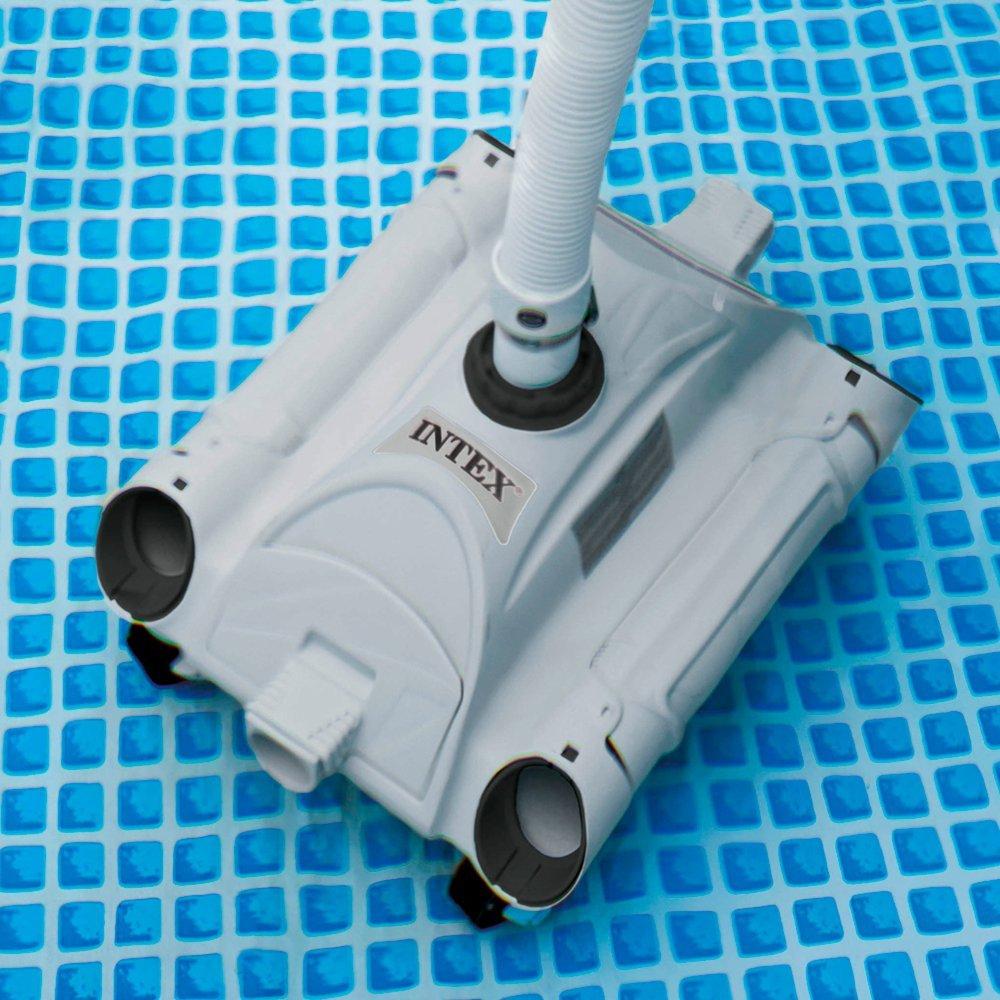 Intex 28001 Robot De Piscine Nettoyeur De Fond dedans Robot Piscine Hors Sol Intex