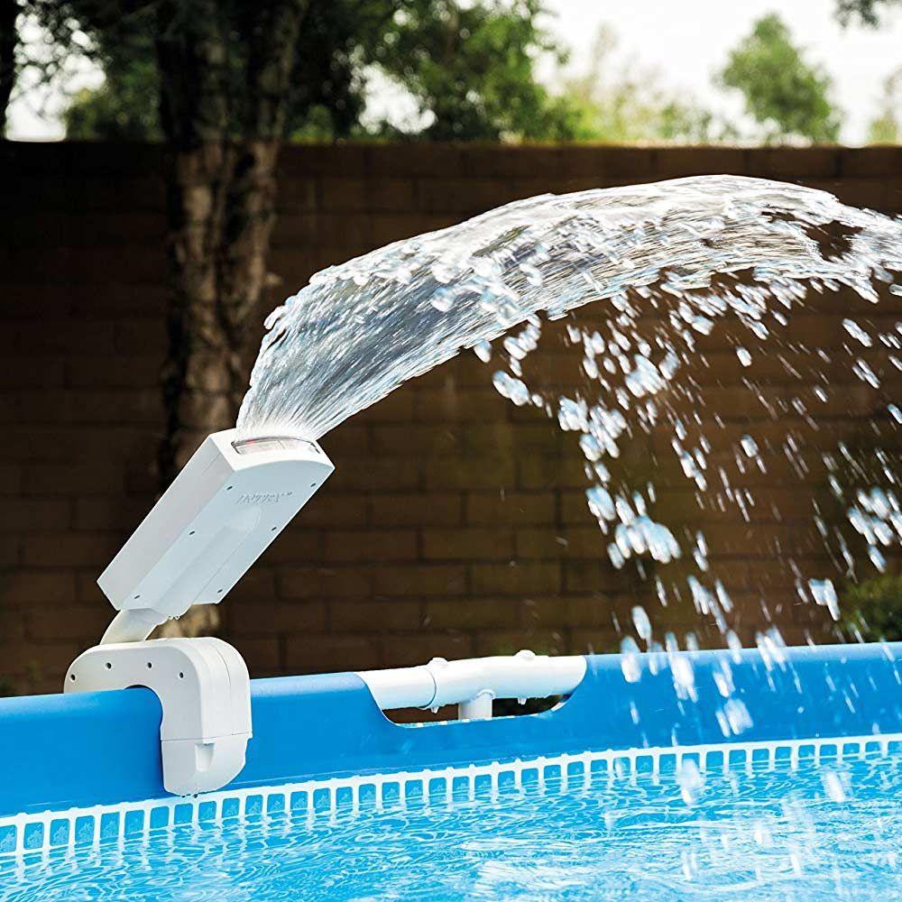 Intex 28089 Jet D'eau Multicolore Pour Piscines Hors-Sol ... serapportantà Piscine Hors Sol Cdiscount