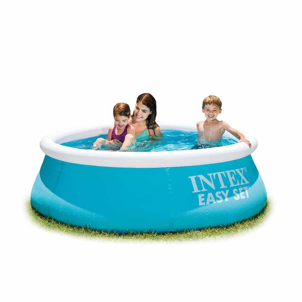 Intex 28101 Easy Set Piscine Hors Sol Gonflable Ronde 183X51 encequiconcerne Piscines Gonflables