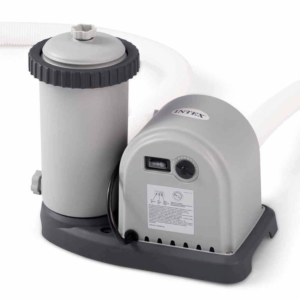 Intex 28636 Épurateur À Cartouche Purificateur Filtre Piscine Hors-Sol 5678  Lt/hr serapportantà Pompe Filtration Piscine Hors Sol Intex