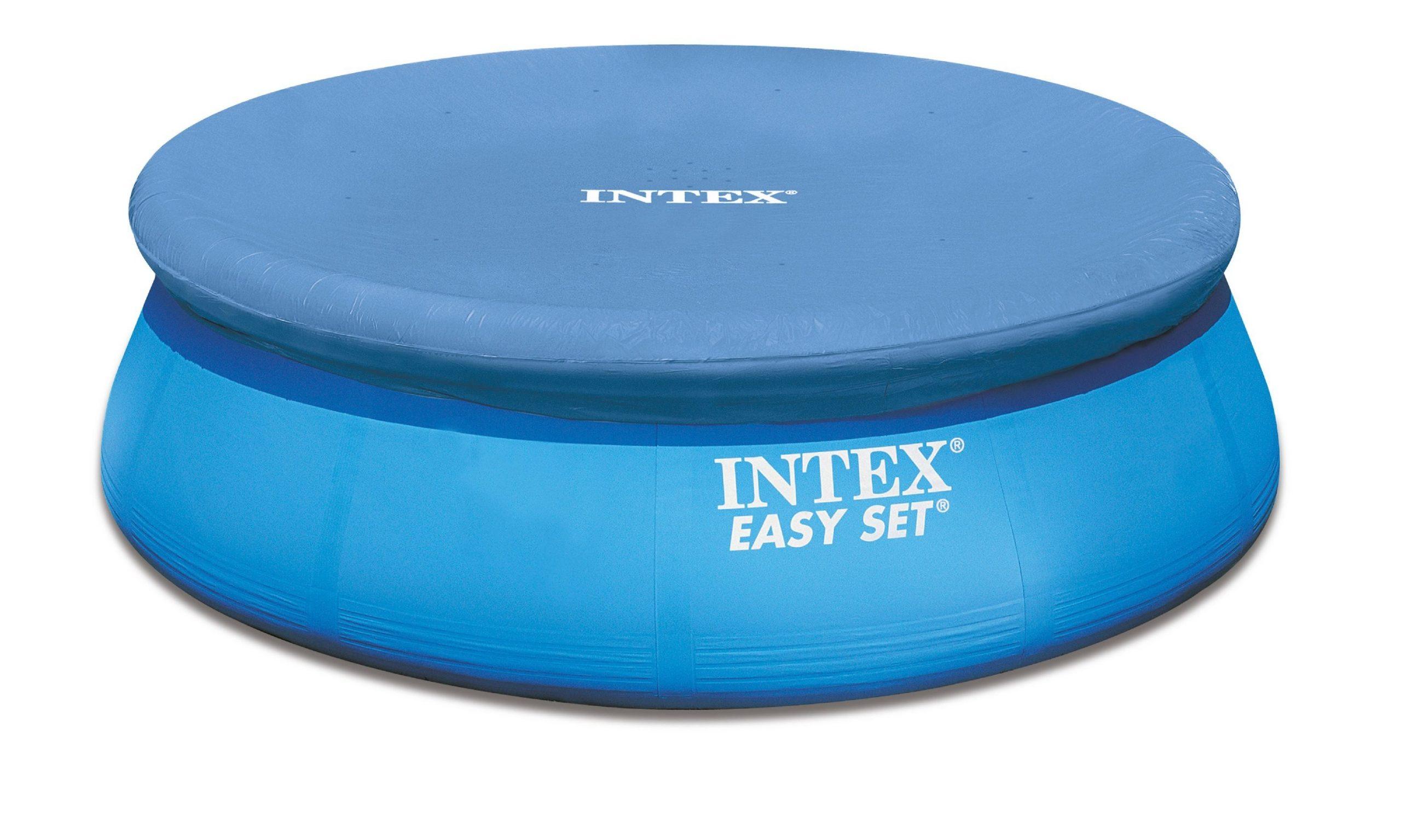 Intex Bâche De Protection Pour Autostable Ronde 305 Cm ... encequiconcerne Piscine Autostable