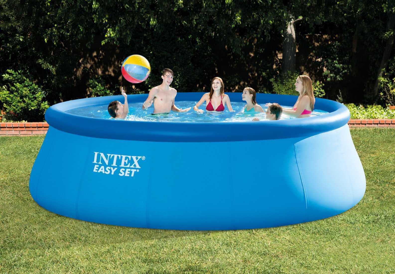 Intex Easy Pool-Set 4,57 X ↕1,22M serapportantà Liner Piscine Intex