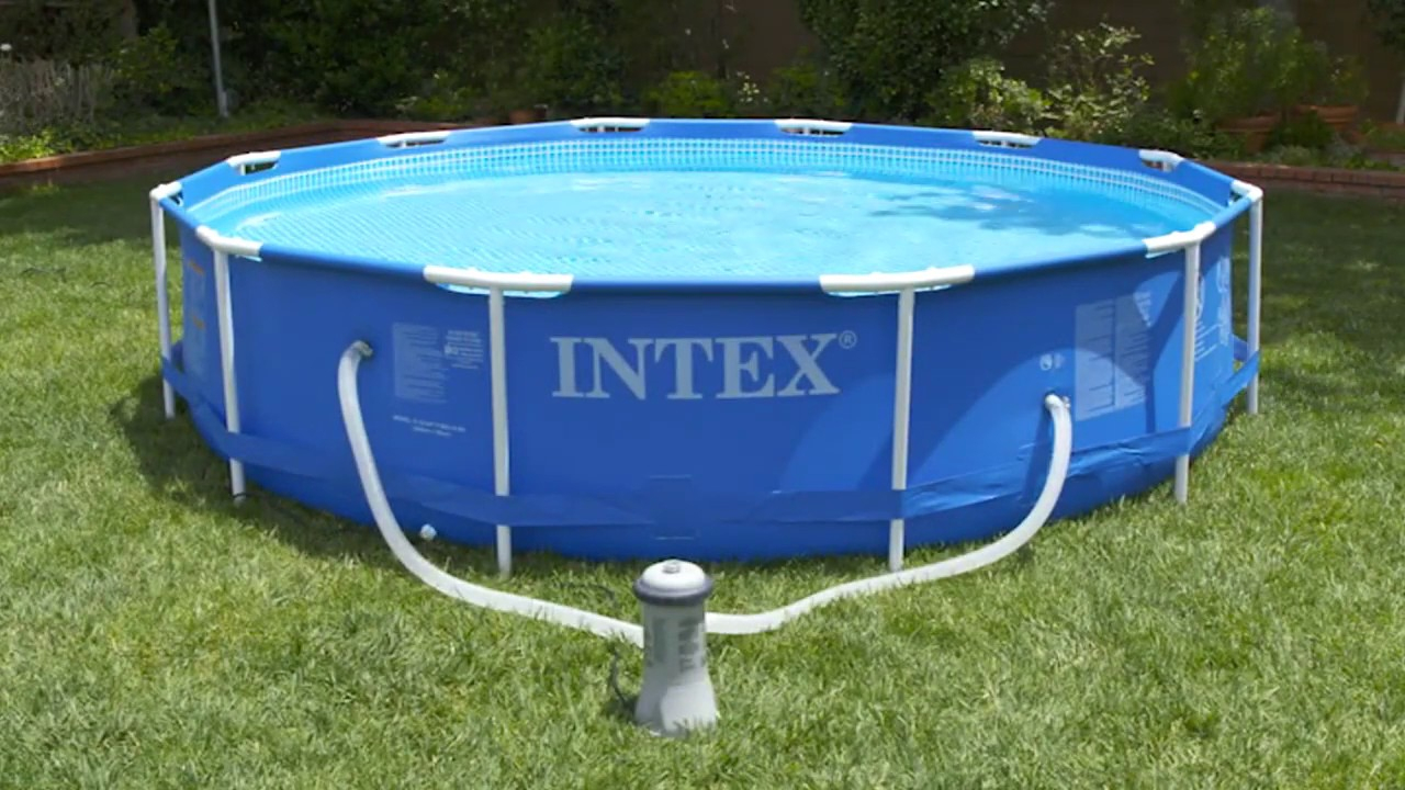 Intex Epurateur A Cartouche 2271 destiné Piscine Intex 3.66