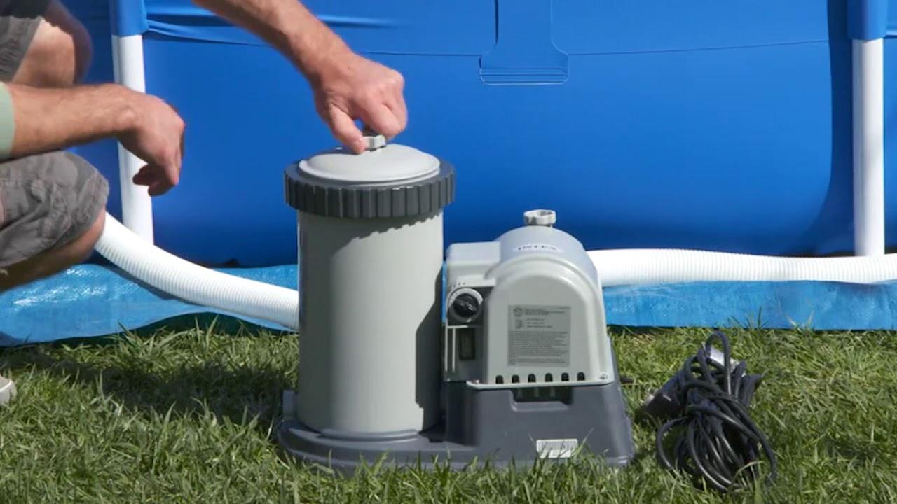Intex Epurateur-A-Cartouche 9463 concernant Cartouche Filtre Piscine Intex