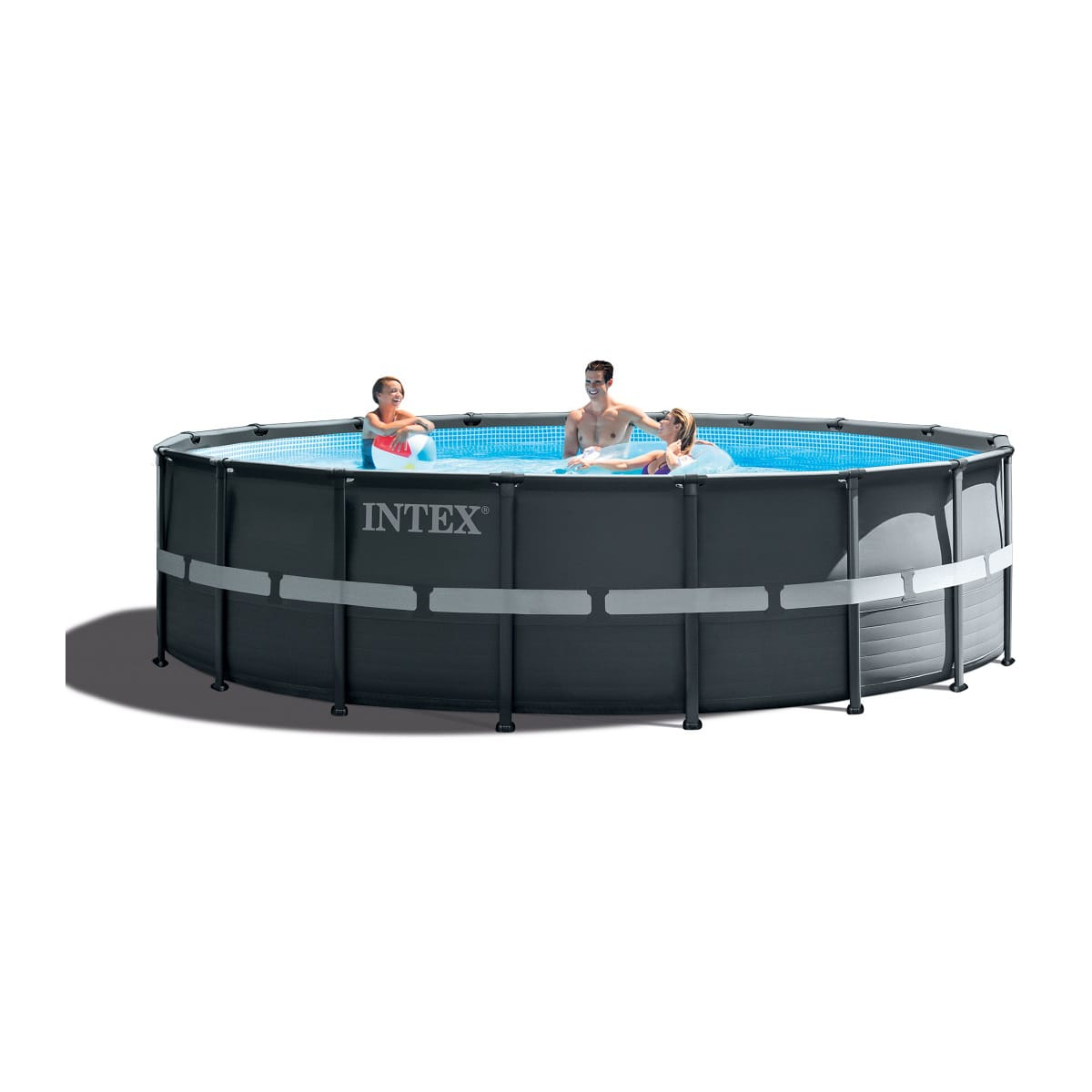 Intex Kit Piscine Ronde Tubulaire Ultra Frame 5,49M X 1,32M destiné Auchan Piscine Tubulaire