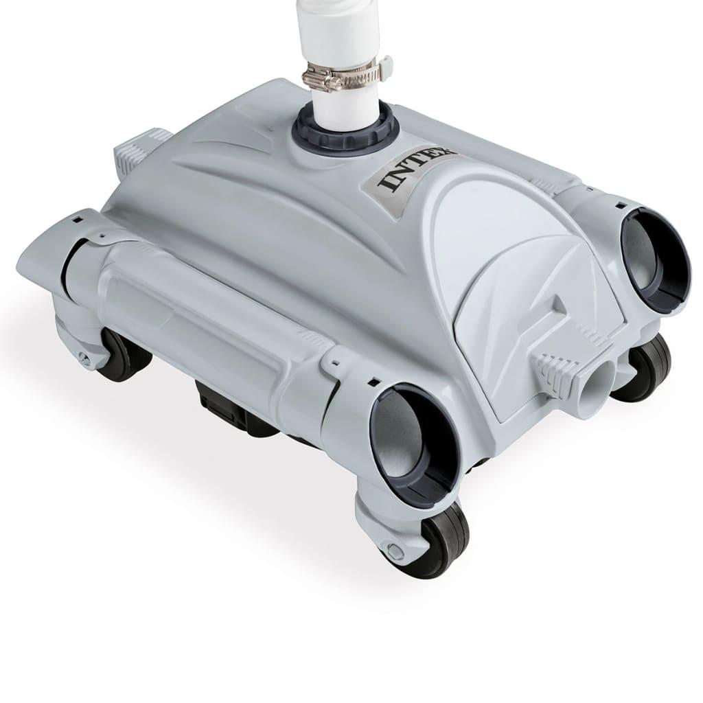 Intex Nettoyeur Automatique De Piscines Hors Sol 28001 tout Nettoyage Piscine Hors Sol