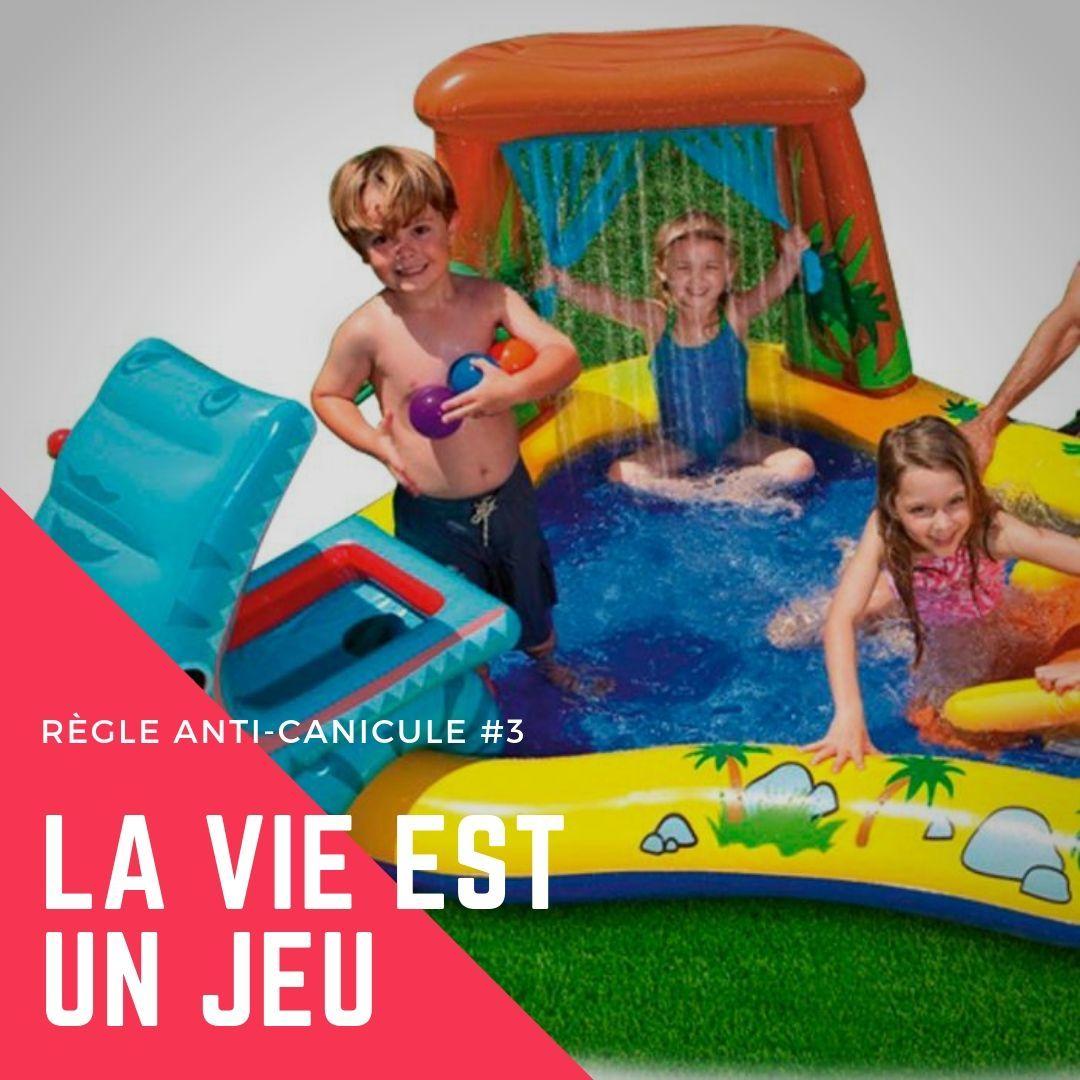 Intex Piscine Gonflable Enfant / Aire De Jeux Aquatique ... concernant Piscine Enfant Pas Cher
