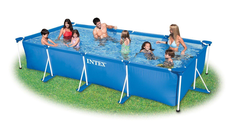 Intex Small Family Frame Pool 4.5M X 2.2M X 0.84M #28273 ... concernant Liner Piscine Intex