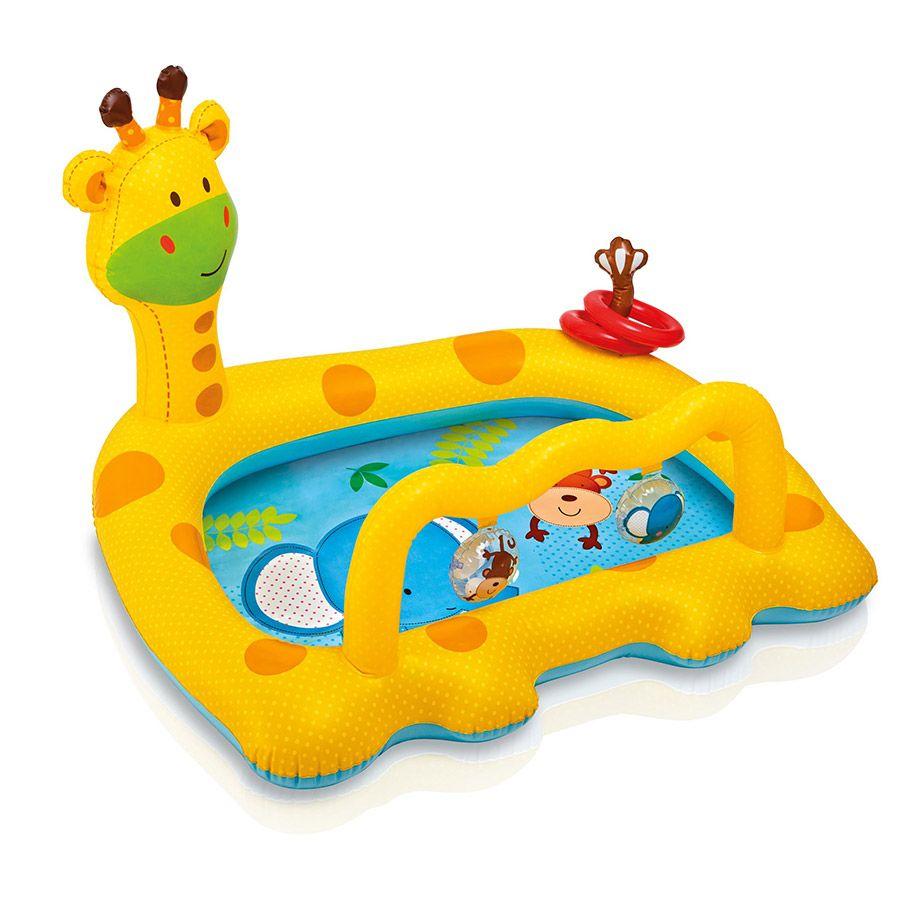 Intex Smiley Giraffe Baby Pool | Toys R Us Australia | Baby ... encequiconcerne Piscine A Balle Toysrus