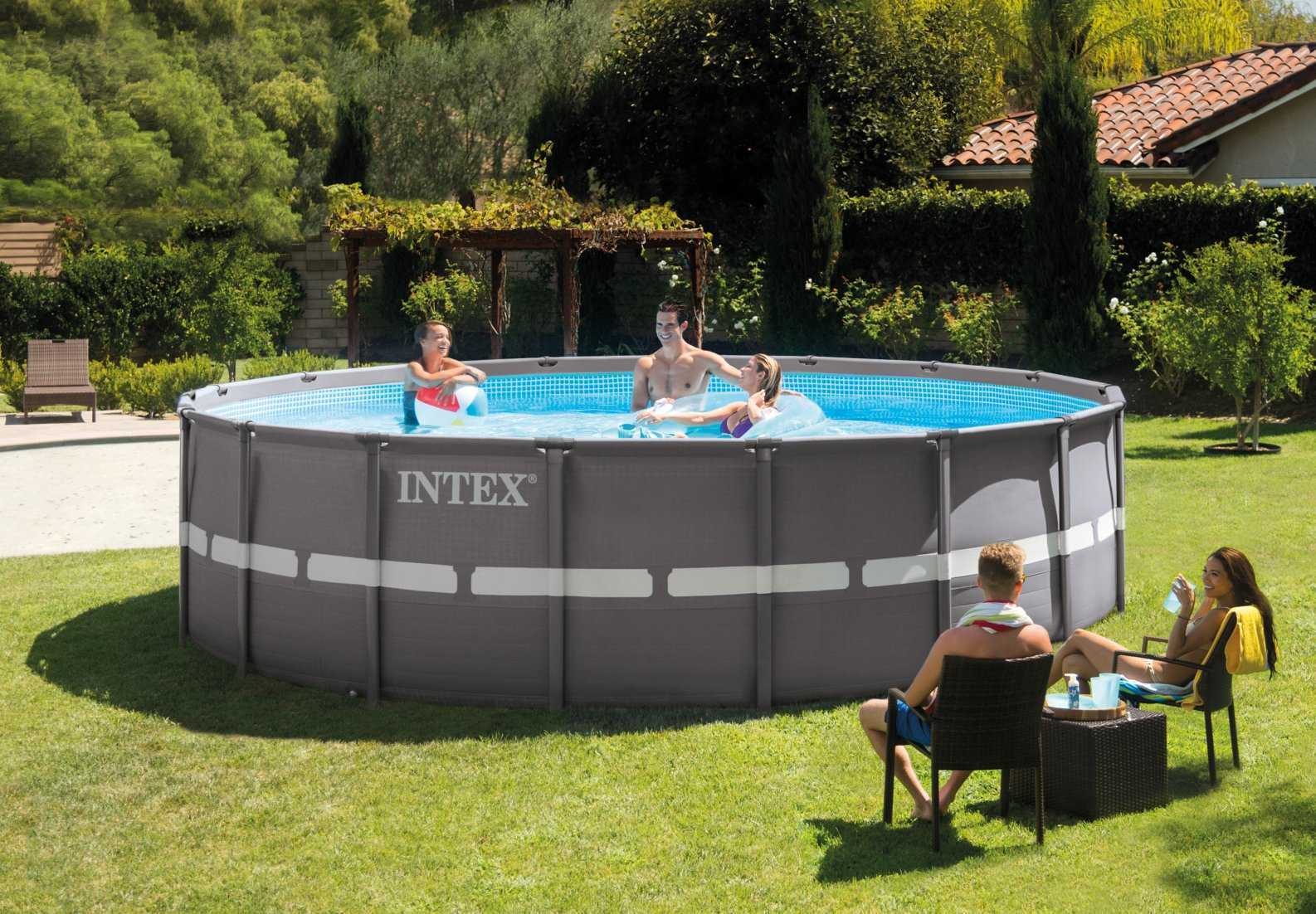 Intex Ultra Frame 5,49 X ↕1,32M concernant Piscine Intex Ultra Frame