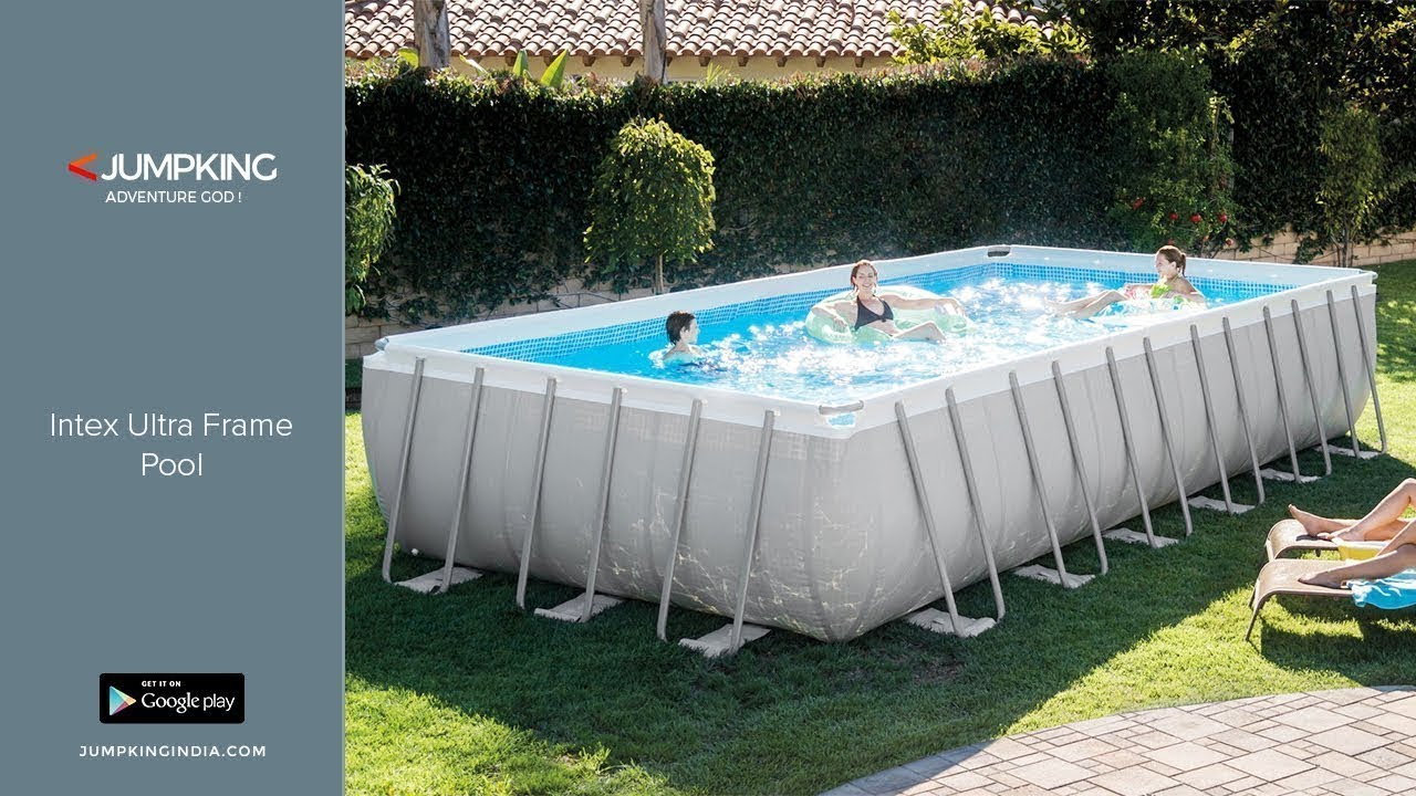 Intex Ultra Frame Pool Installation- Jumpking India tout Piscine Intex Ultra Frame