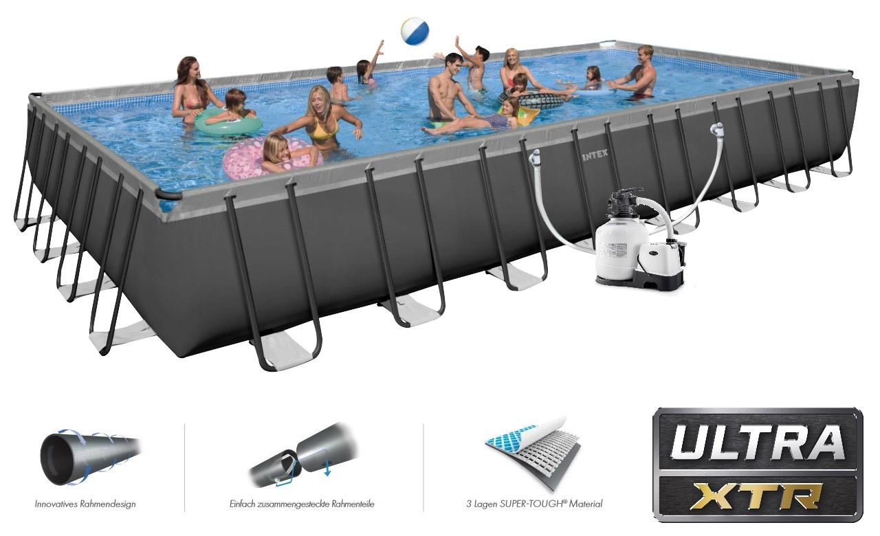 Intex Ultra Frame Pool Owners Manual dedans Liner Piscine Intex