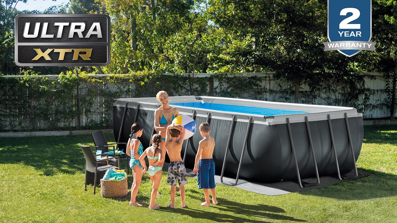 Intex Ultra Xtr Frame Above Ground Pools serapportantà Piscine Intex Ultra Frame