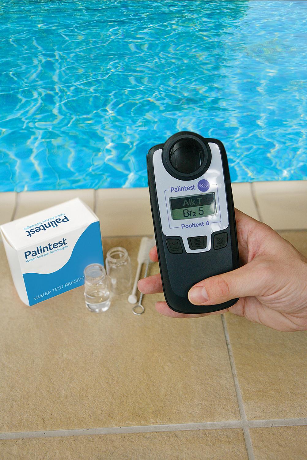 Introduction Du Nouveau Pooltest 4 Photomètre | Palintest concernant Photomètre Piscine