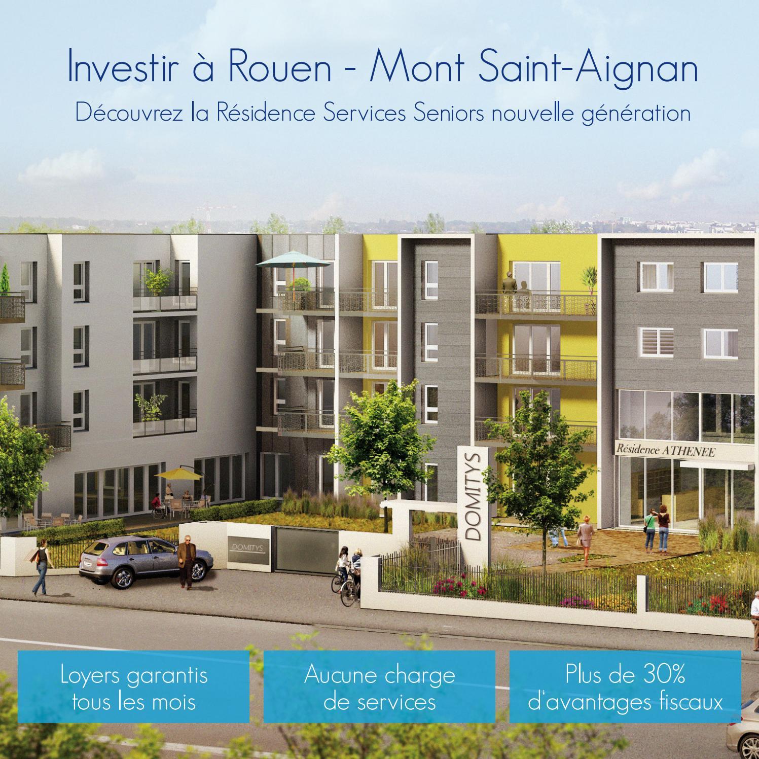 Investir À Rouen - Mont Saint-Aignan By Domitys Invest - Issuu intérieur Piscine De Mont Saint Aignan