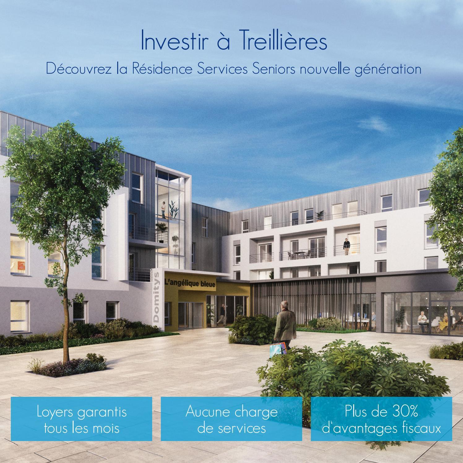 Investir À Treillières By Domitys Invest - Issuu destiné Piscine Treillieres