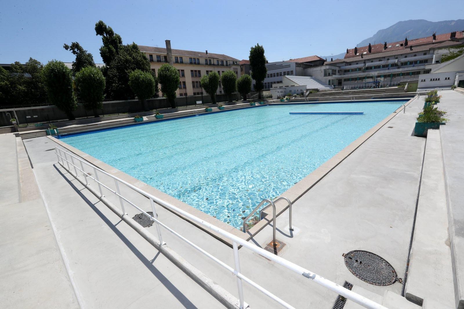 Isère-Sud | Grenoble : Réouverture Progressive De La Piscine ... destiné Piscine Isere