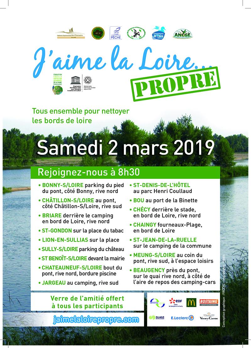 J'aime La Loire Propre 2019 | Dampierre-En-Burly avec Piscine De Checy
