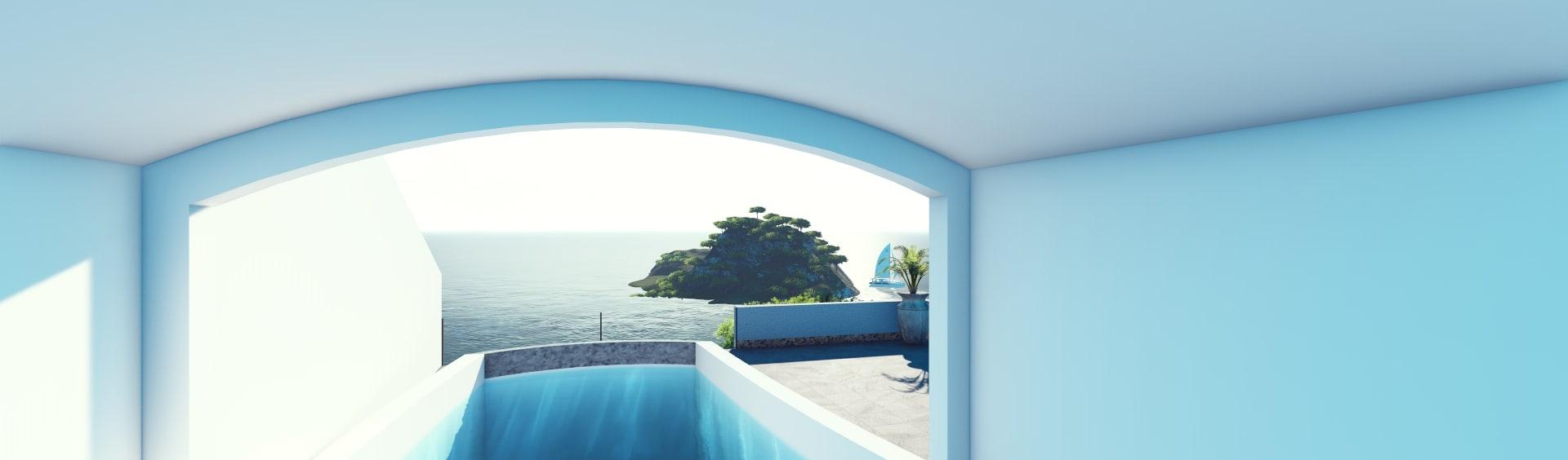 Jardin - Contemporain - Serris France Par Palma Concept | Homify avec Piscine Serris