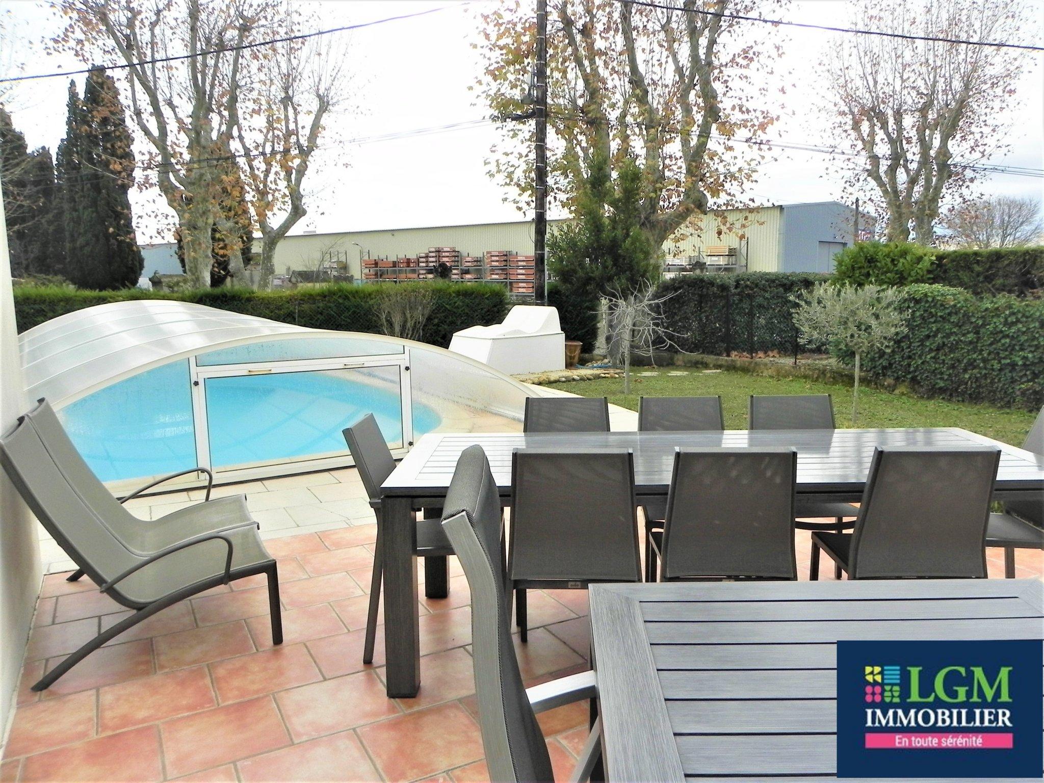 Jolie Villa 5 Pièces Avec Piscine – Lgm Immobilier à Piscine Cournonterral