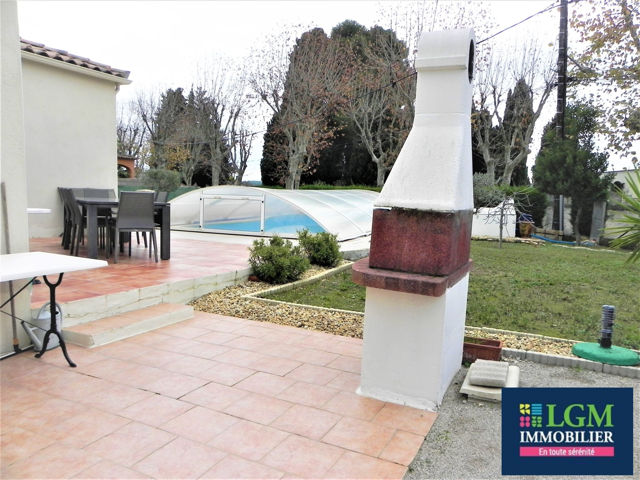 Jolie Villa 5 Pièces Avec Piscine – Lgm Immobilier destiné Piscine St Mathieu De Treviers