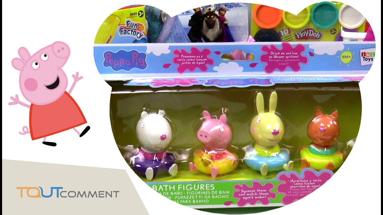 Jouet Peppa Pig À La Piscine // Peppa Pig Toys Video Swimming Pool encequiconcerne Peppa Pig À La Piscine