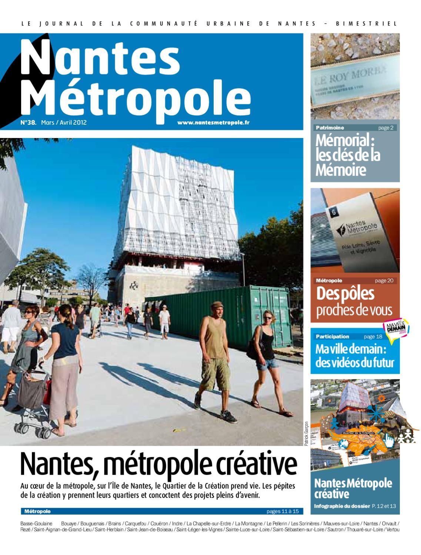 Journal Nantes Métropole #38 - Mars / Avril 2012 By Nantes ... tout Piscine Coueron