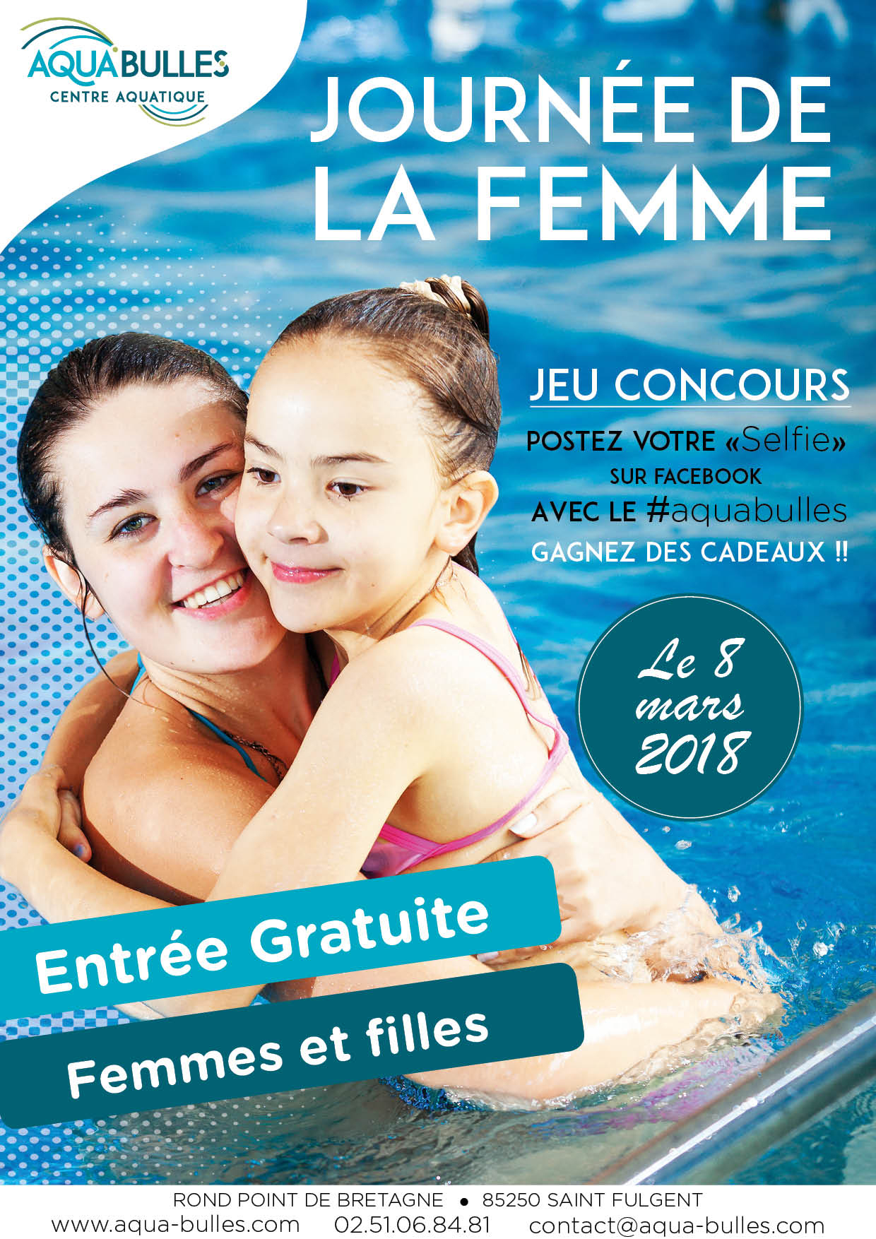Journée De La Femme - Piscine Gratuite !! - Aqua Bulles pour Jeux De Piscine Gratuit