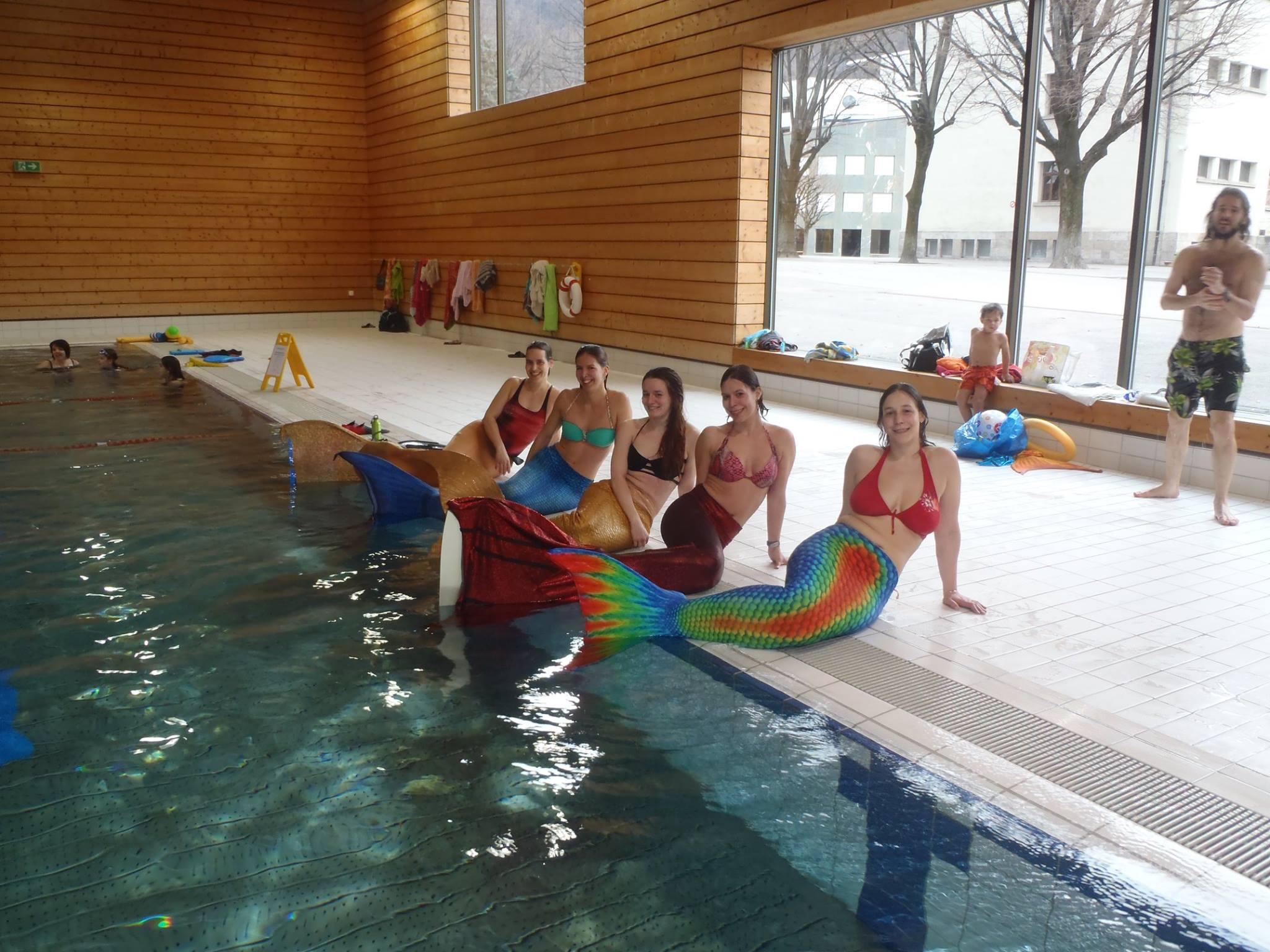 Journée D'initiation Au Mermaiding – Métisphère Swiss Mermaid concernant Piscine Thonex