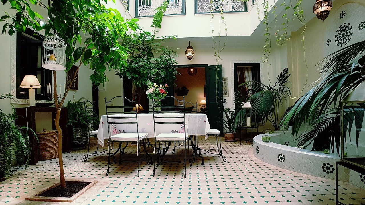 Kasbah Baraka À Marrakech Riad 4 Chambres dedans Riad Marrakech Avec Piscine