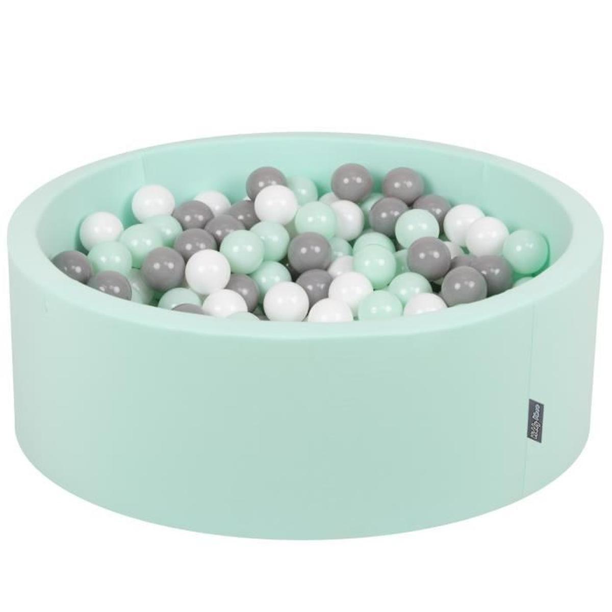 Kiddymoon 90X30Cm/200 Balles ∅ 7Cm Piscine À Balles Pour ... à Piscine A Balle En Mousse