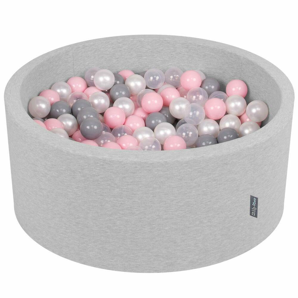 Kiddymoon 90X40Cm/300 Balles ∅ 7Cm Piscine À Balles Pour ... dedans Piscine À Balles Bébé