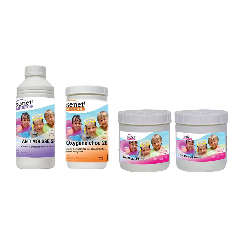 Kit De Démarrage Pour Spa Gonflable - 4 Produits - Decoandgo encequiconcerne Animaux Gonflable Pour Piscine