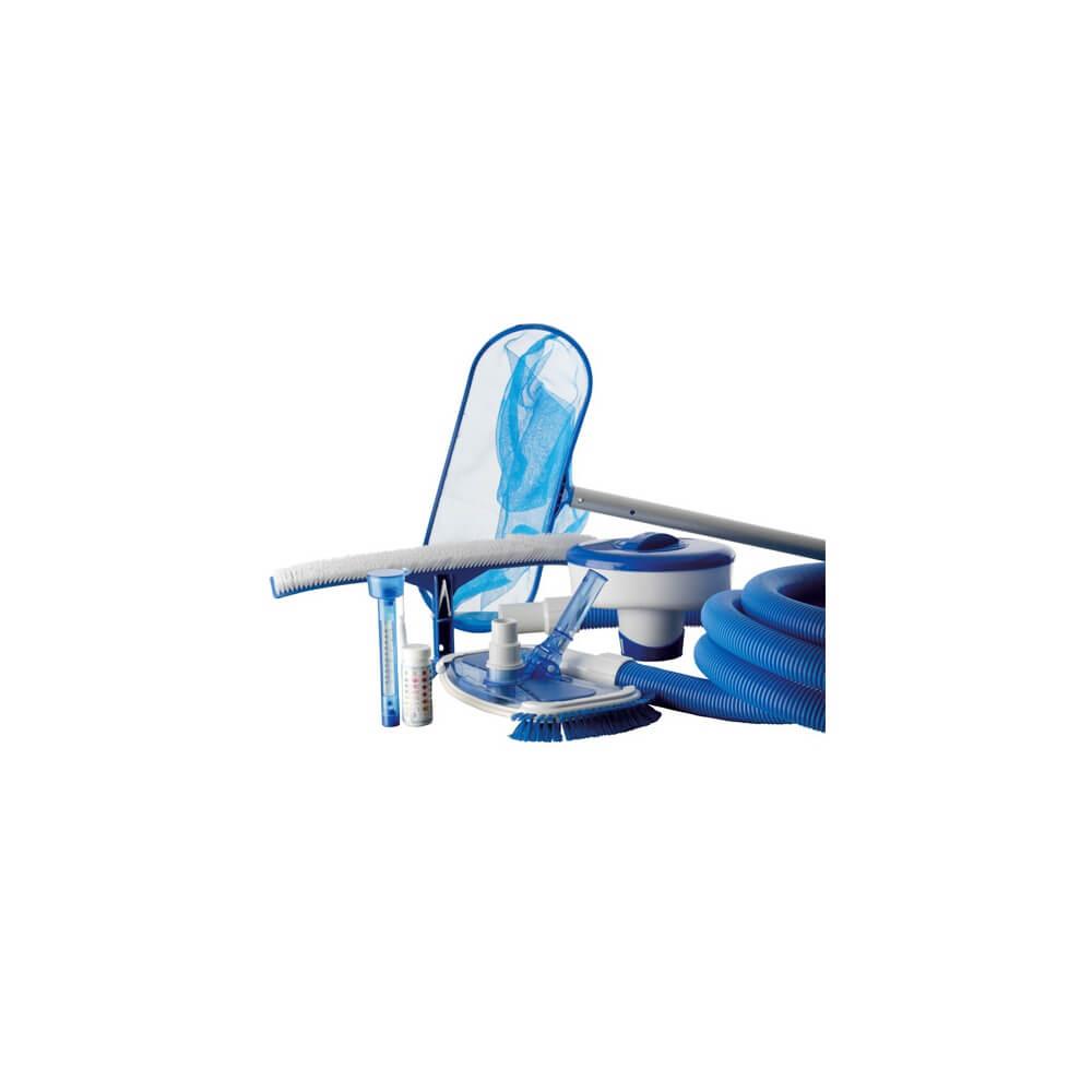 Kit De Nettoyage 8 Pièces Pour Piscine Hors-Sol concernant Nettoyage Piscine Hors Sol