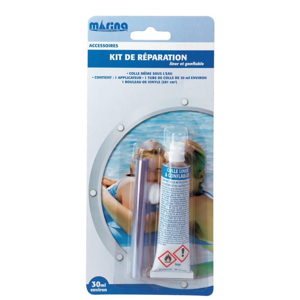 Kit De Réparation Piscine Marina Liner & Gonflable 30Ml destiné Kit Reparation Piscine