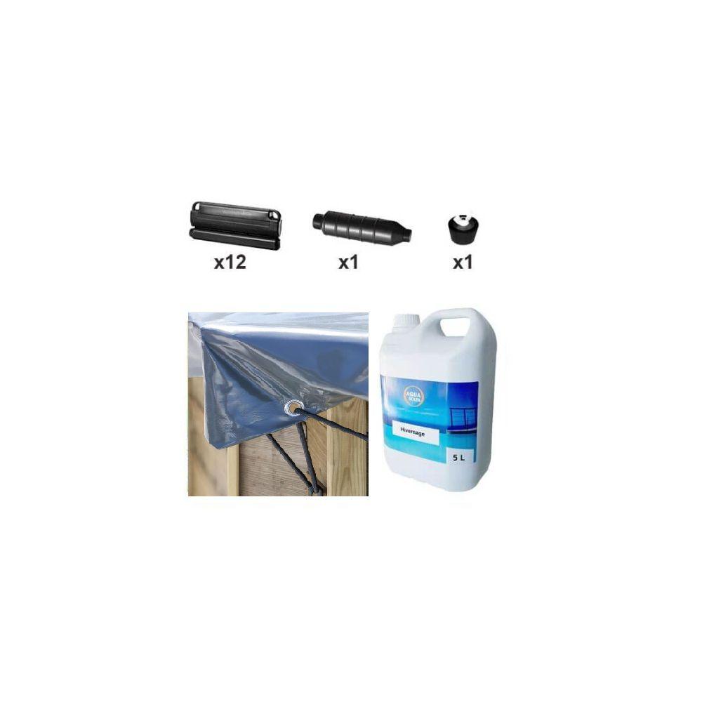 Kit D'hivernage Piscine Sunbay Avocado 656 X 456 Cm intérieur Flotteur Hivernage Piscine