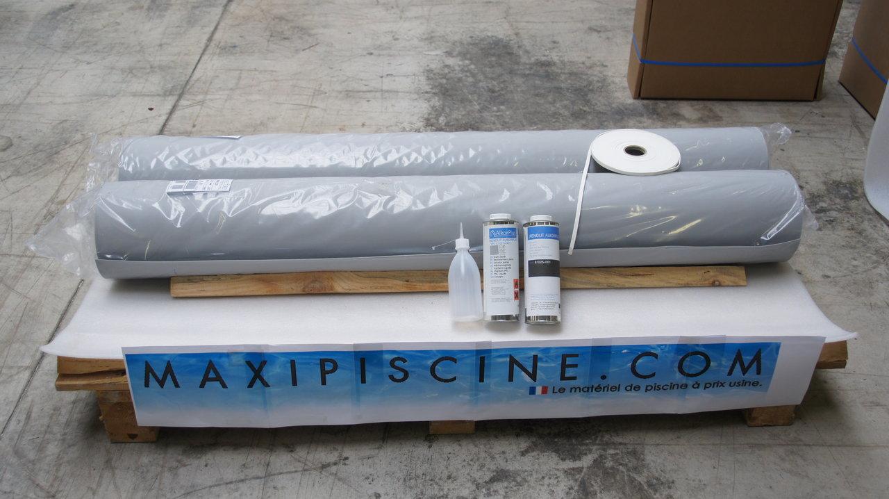 Kit Liner Armé Alkorplan Standard Pour Piscine 8X4M dedans Liner Piscine Prix