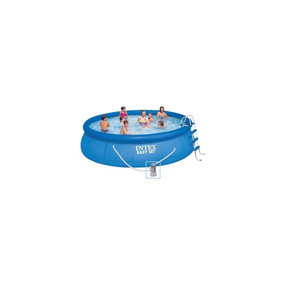 Kit Piscine Autoportante Easy Set Intex - D. 4,88 M X H 1,22 M intérieur Entretien Piscine Autoportée