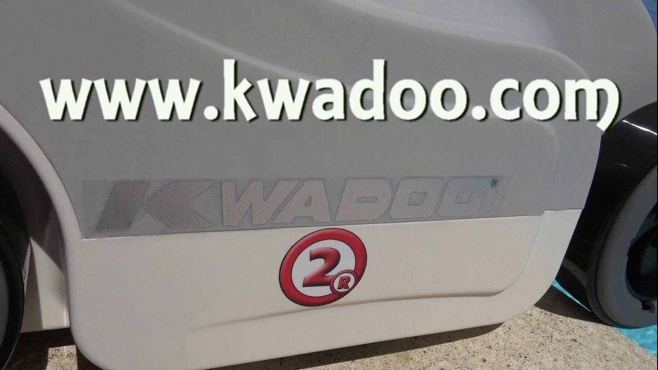 Kwadoo 2R Piscine Robot 'la Version Finale' encequiconcerne Meilleur Robot Piscine 2017