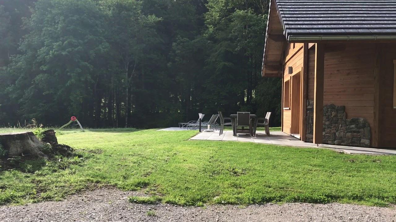 La Clairière Inattendue – Chalets De Luxe Vosges intérieur Location Avec Piscine Intérieure Chauffée Privée