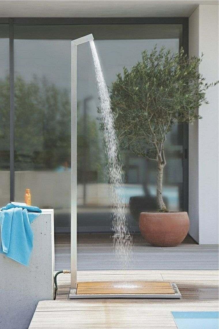 La Douche De Jardin Pour Les Amoureux De La Nature pour Douche Extérieure Piscine