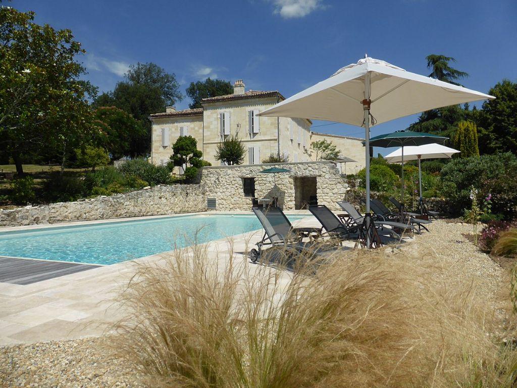 La Grave - Charming Guest House - La Sauve Gay Bordeaux ... intérieur Cash Piscine Bordeaux
