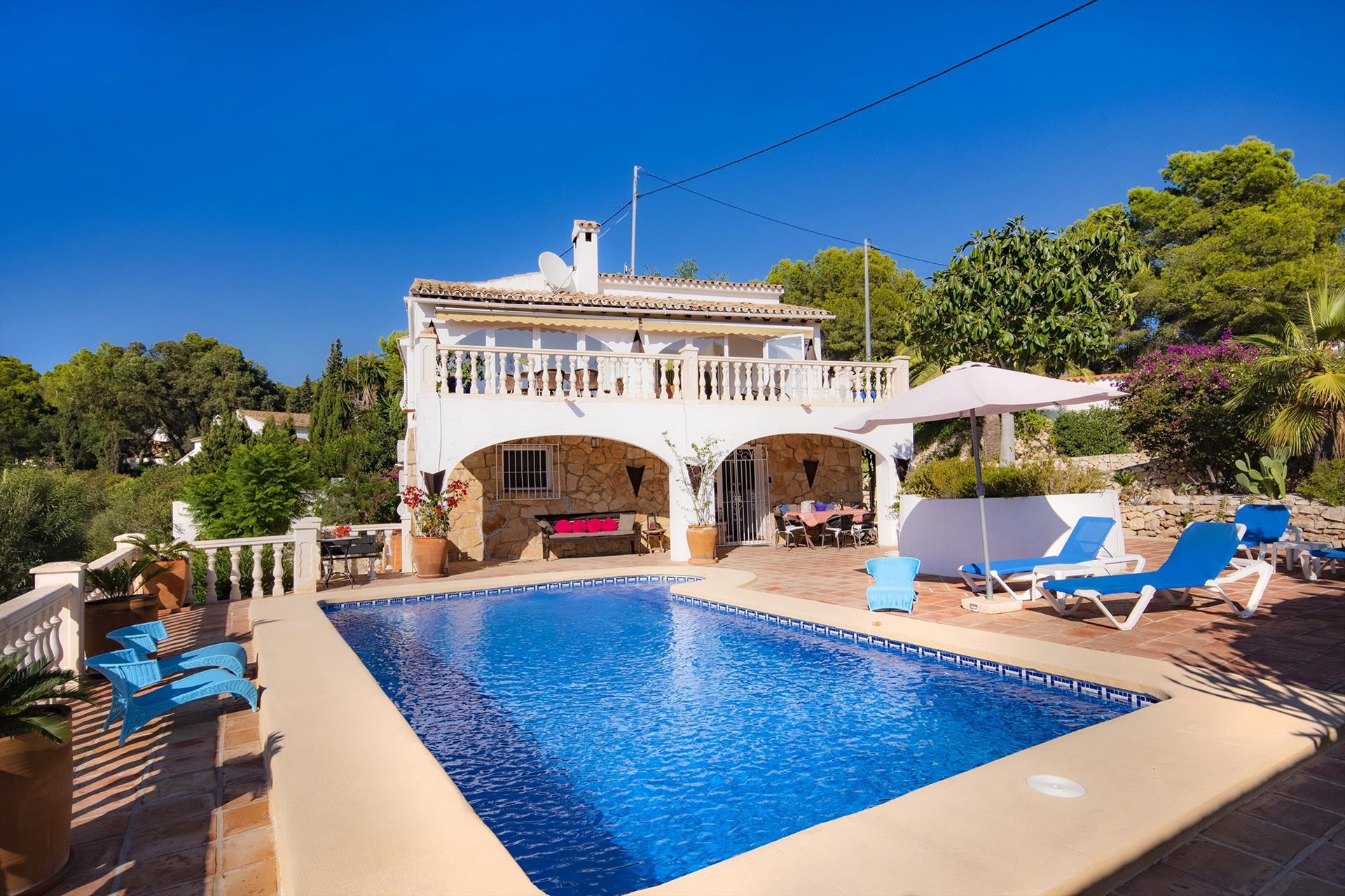La Llobella - Villa À Benissa, Espagne dedans Villa En Espagne Avec Piscine