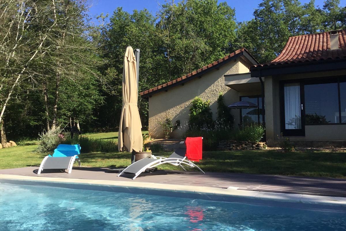 La Maison Des Chênes, Self-Catering Holiday Home With ... intérieur Self Piscine